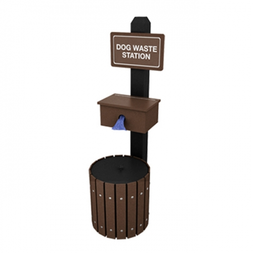 outdoor pet waste package curbside street dog packing bag dog waste station