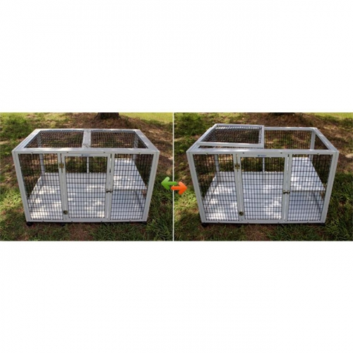 indoor decorative dog kennel reinforced dog crate puppy cage for sale small dog crates for sale