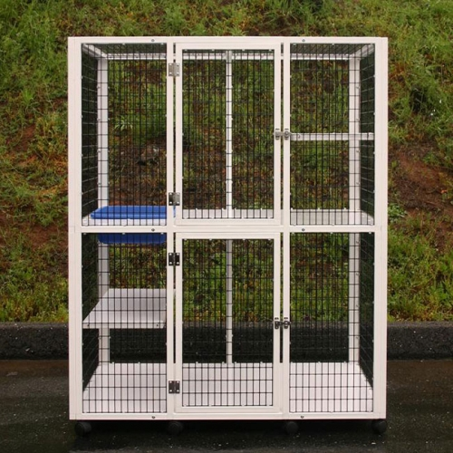 metal dog crate collapsible dog kennel
