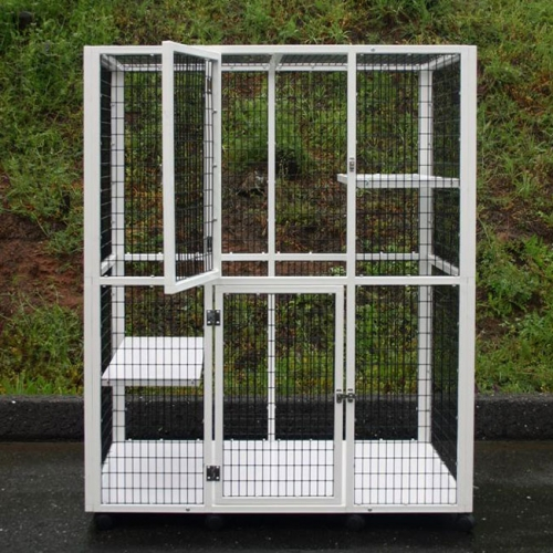 best dog crate for car stainless steel dog kennel