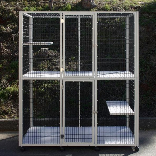 new design fancy dog cages custom size dog crates