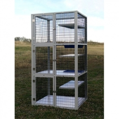 used dog cages jumbo dog crate stackable dog kennels