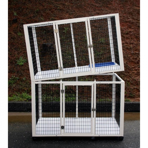 stackable dog crates large indoor dog kennels