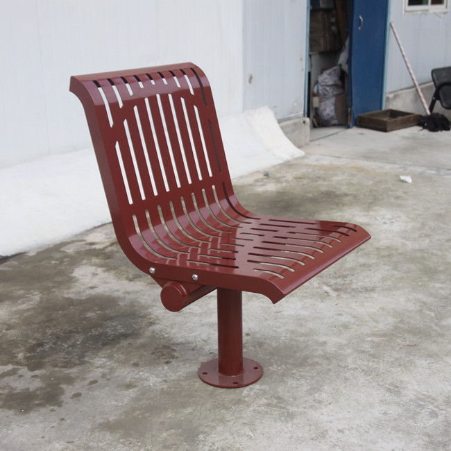outdoor modern metal chair for customer