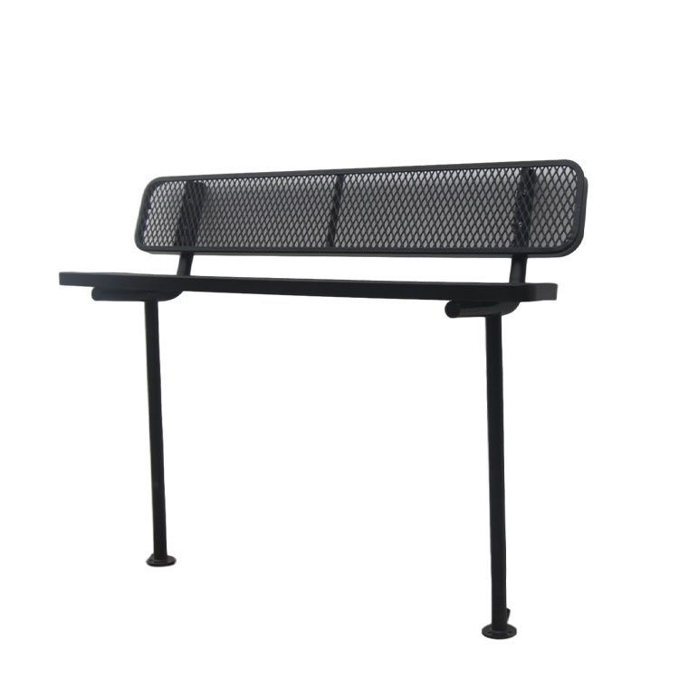 excellent outdoor leisure black bench