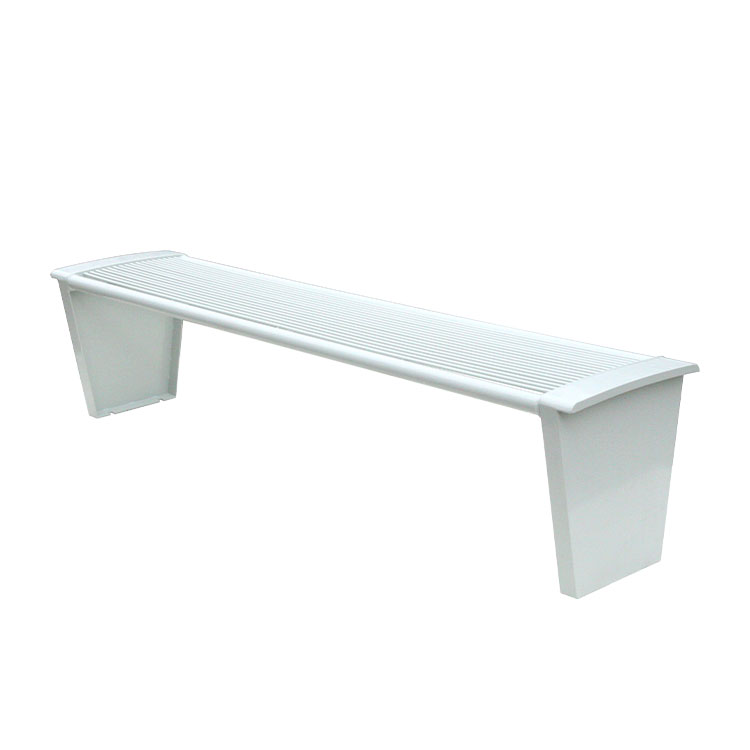 outdoor leisure garden white bench