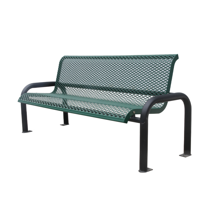 outdoor antique wrought iron benches
