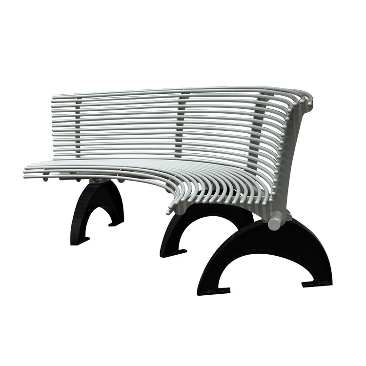 rustic outdoor grey park bench