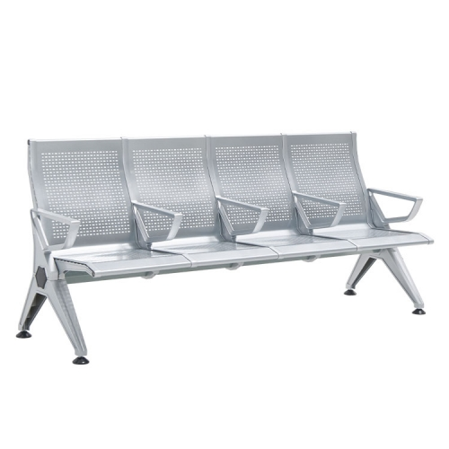 cheap inoor sliver 4 seater bench