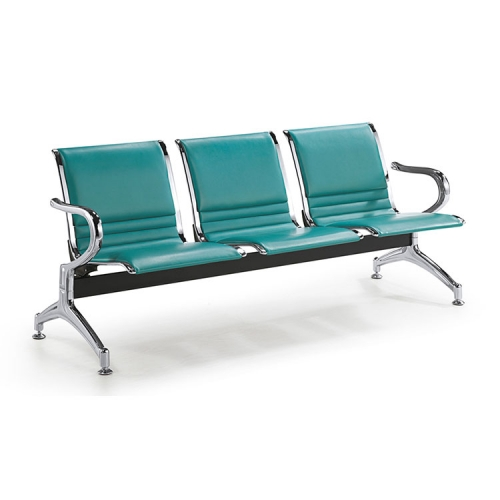 galvanized metal indoor 3 seater bench