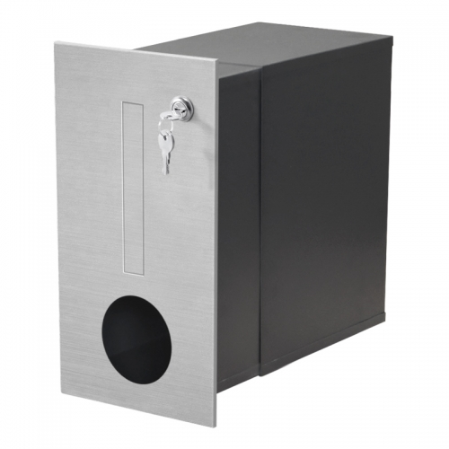 outdoor european style aluminium letter box package post box