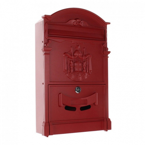 outdoor rustic safe lockable post boxes