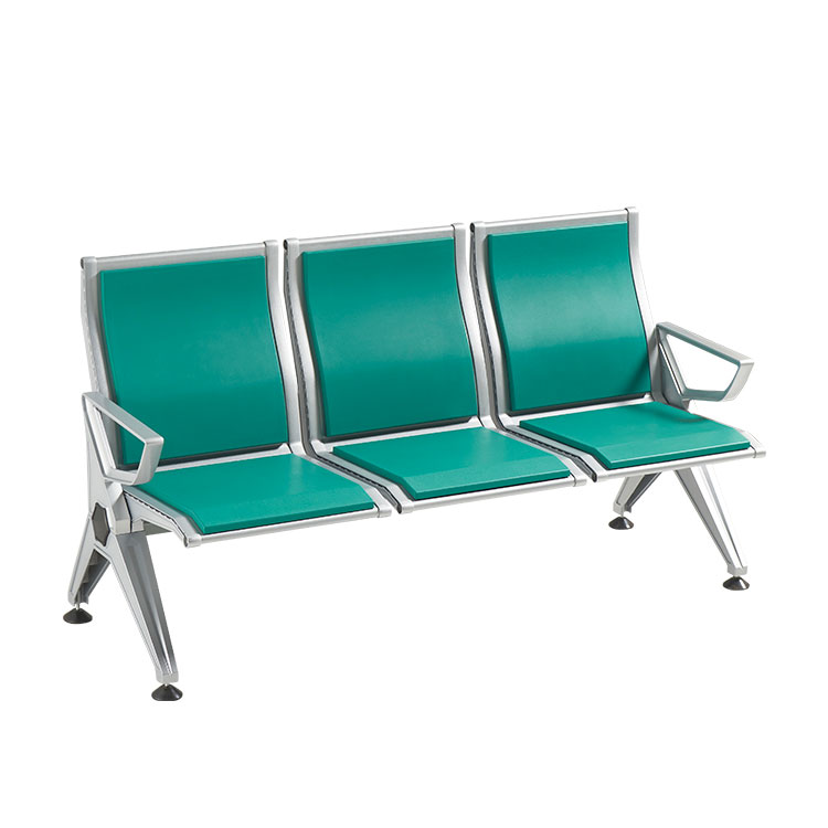 3 seater hospital steel waiting room chairs