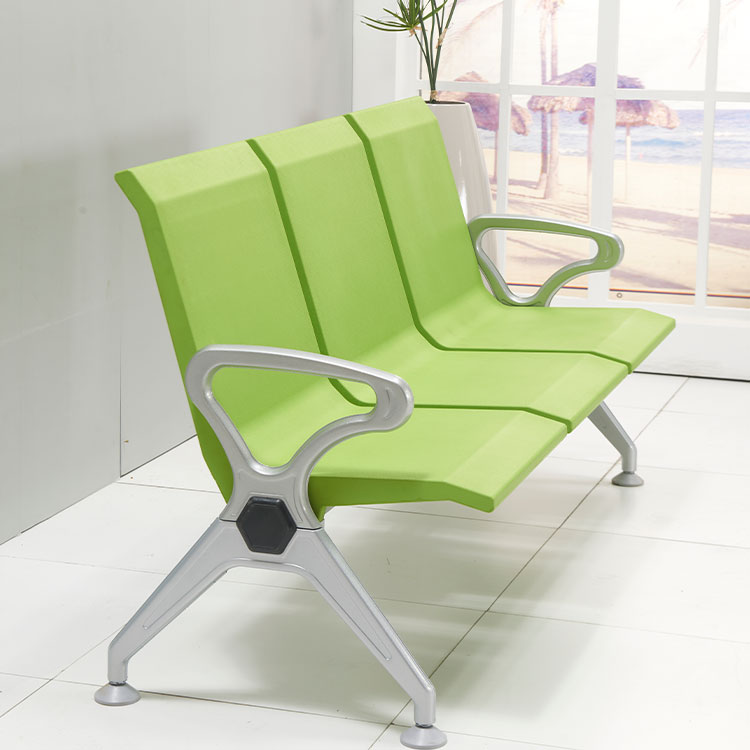 indoor comfortable green waiting room chairs