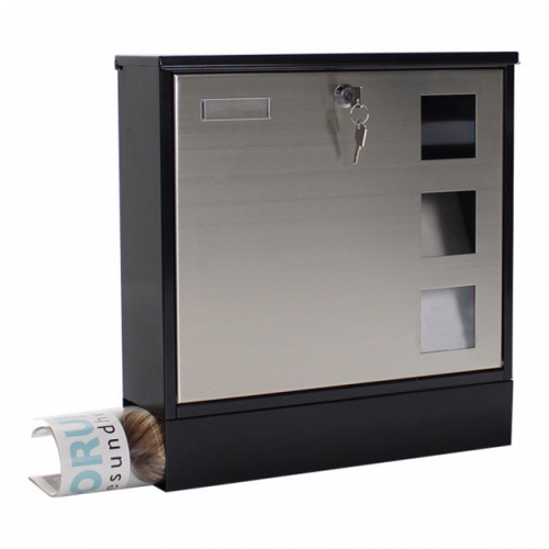 locking security secure mailbox for home
