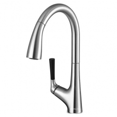 Kohler Malleco 562T Kohler Faucets Single Hole Revolving Hot Cold Water Pull Down Kitchen Sink Faucets with Magnetic Docking Spray