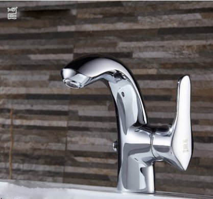 GuoJiangLong L030-2 Modern Bathroom Faucets Polished Chrome Bathroom Faucets Without Pb Lifetime Warranty
