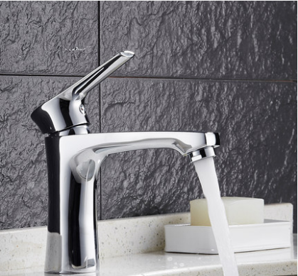 GuoJiangLong L008 Single Handle Bathroom Faucet Without Pb Bathroom Sink Faucets Lifetime Warranty