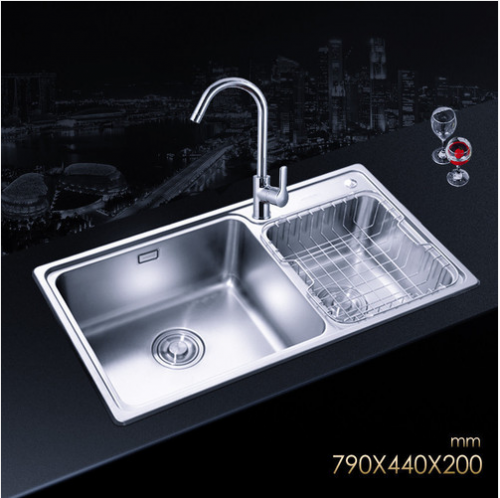 Jomoo 02115-00-Z  Double Bowl Kitchen Sink Undermount With Kitchen Faucets Life Time Warranty