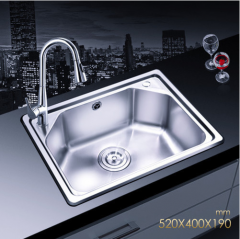 Jomoo SCZH06059E Single Bowl Kitchen Sink Modern Kitchen Sink With Pull Out Kitchen Taps Lifetime Warranty
