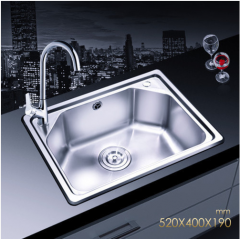 Jomoo SCZH06059C Single Bowl Kitchen Sinks Stainless Steel Sink Undermount With Best Kitchen Faucets Lifetime Warranty