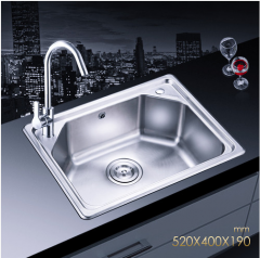 Jomoo SCZH06059A Single Bowl Kitchen Sinks Kitchen Sink Undermount With Brass Kitchen Faucet Lifetime Warranty