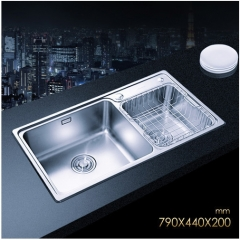 Jomoo 06122 Big Double Basin Undermount Kitchen Sink Stainless Steel Kitchen Sinks Without Kitchen Faucets