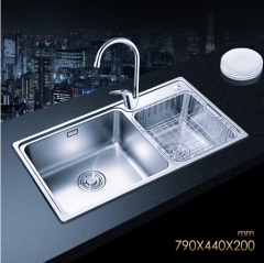 Jomoo SCZH06122A Double Bowl Kitchen Sink Best Undermount Kitchen Sinks With Best Kitchen Faucets