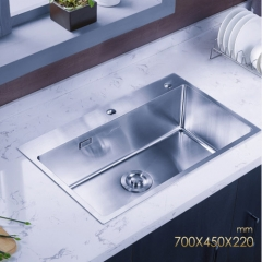 Jomoo 06158 Big Single Basin Kitchen Sink Stainless Steel Kitchen Sinks Without Kitchen Faucet