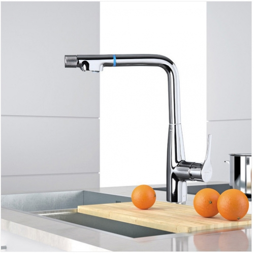 Jomoo 33096 Modern Kitchen Faucets With Purified Water Function Single Hole Kitchen Faucet
