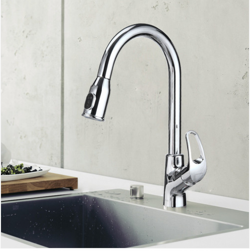 Jomoo 33053 Pull Down Kitchen Faucet With Magnetic Docking Spray Head