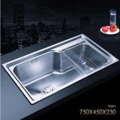 Jomoo 06124 Big Single Bowl Kitchen Sink White Undermount Kitchen Sink Without Kitchen Faucets