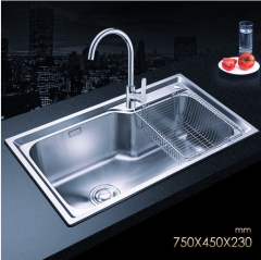 Jomoo SCZH06124B Combo Single Bowl Kitchen Sinks White Undermount Kitchen Sink With Single Handle Kitchen Faucet