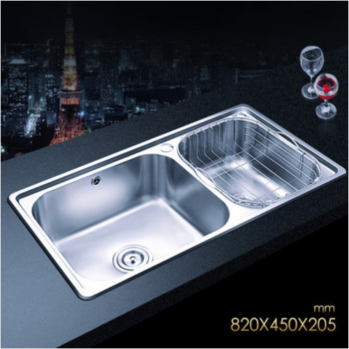 Jomoo 06120 Big Double Basin Kitchen Sink Stainless Steel Sink For Kitchen Without Kitchen Faucets