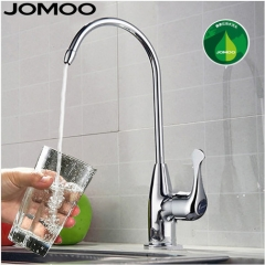 Jomoo 7903 Kitchen Faucets In Brushed Nickel With Only Cold Water Kitchen Sink Faucets