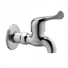 Jomoo Outdoor Faucet 7101-238 Polished Chrome Wall Mount Single Cold Water Garden Tub Faucet