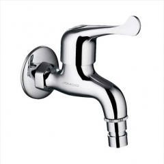 "Jomoo Garden Tub Faucet 7202-238 Polished Chrome Decorative Garden Faucet G1/2"" Adapter Laundry Faucet"