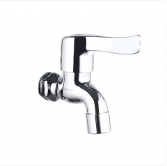 Jomoo Outdoor Faucet 7305-340 Wall Mount Bathroom Faucet Polished Chrome Only Cold Water Garden Tub Faucet
