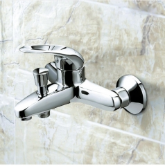 Jomoo Shower Faucet 3577-050 Polished Nickel Bathroom Faucet Pressure Balanced Shower Faucet With Valve Trim Bathtub Faucet