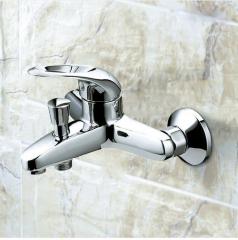 Jomoo Shower Faucet 3577-050 Polished Nickel Bathroom Faucet Pressure Balanced Shower Faucet With Valve Trim Bathtub Faucet