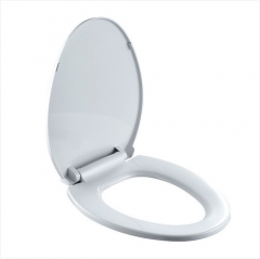 Jomoo Toilet Seat 97G1020S Soft Close White Closed-Front Toilet Seats Replacement With Quick Attach And Release Toilet Seat Hinges