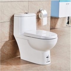 Jomoo Toilet 11217 White Ceramic Dual Flush Toilet Seat Slow Close One Piece Toilet With Toilet Seat Hinges