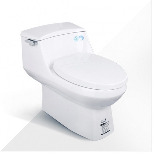 Jomoo Toilet 11209 Side Toilet Flush Handle Toilet Seat Slow Close Siphon Jet One Piece Toilet With Elongated Toilet Seats