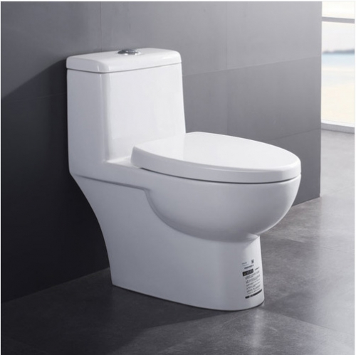 Jomoo Toilet 11170 White Ceramic Dual Flush Elongated Toilet Seats Close Soft Siphon Jet One Piece Toilet With Toilet Seat Covers