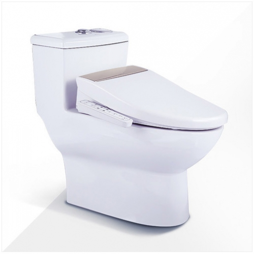 Jomoo Toilet ZH11185 Dual Flush Soft Close Elongated Toilet Seats Siphon Jet Intelligent One Piece Toilet With Toilet Seat Covers