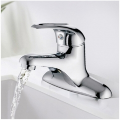 Jomoo Bathroom Faucets 3275 Polished Nickel Single Handle Bathroom Faucet Without Pb Bathroom Sink Faucets