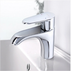 Jomoo Bathroom Faucets 32146 Polished Chrome Single Hole Bathroom Faucet
