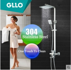 Gllo Shower Faucet GL-Tcieg Shower Head With Hose Pressure Balanced Shower Faucets With Rain Shower Heads Handheld Shower Head Bathtub Spout