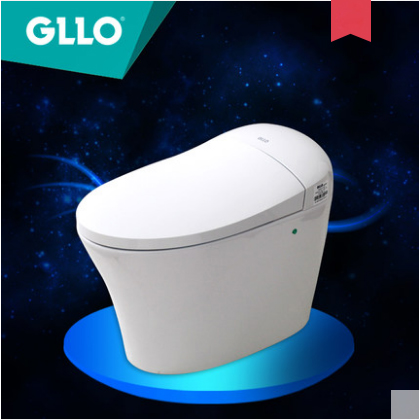 GLLO Toilet GL-9923 Elongated Toilet Seats Siphon Jet Intelligent Bidet Toilet One Piece Toilet With Toilet Seat Warmer
