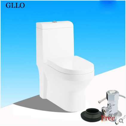 GLLO Toilet GL-548J Modern Toilets Dual Flush Toilet On Sale Siphon Jet One Piece Toilet With Toilet Seat Slow Close